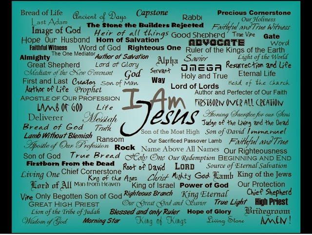 Image result for names of jesus